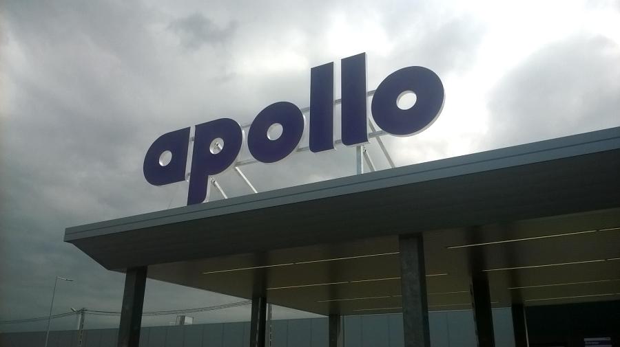 Cégfelirat - Apollo