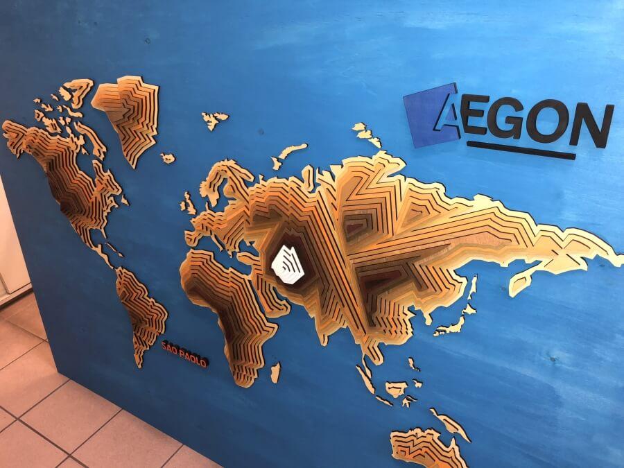 Egyedi installáció - Aegon