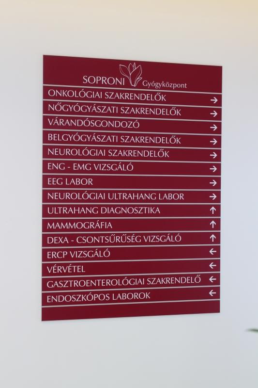 Útbaigazító felirat
