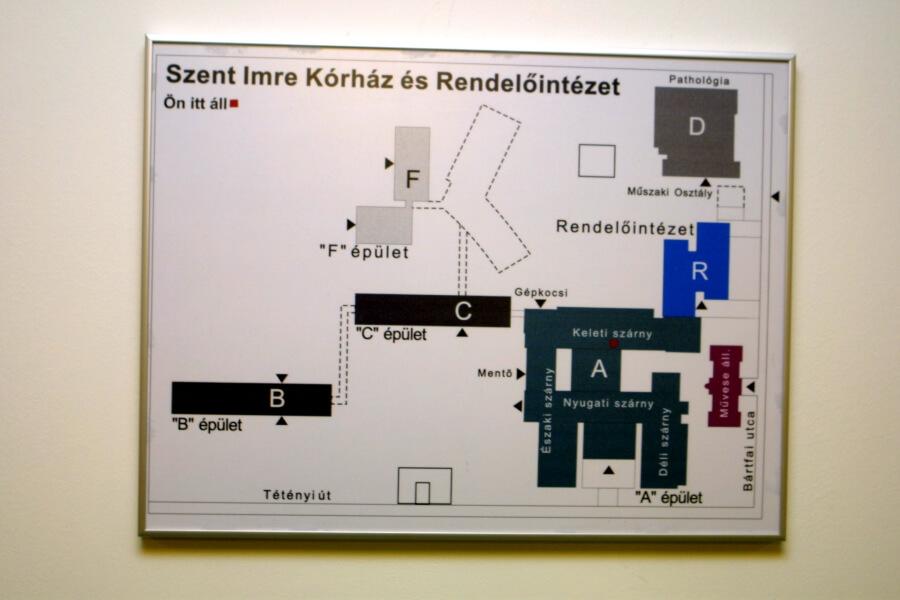 Nielsen keret - Szent Imre kórház