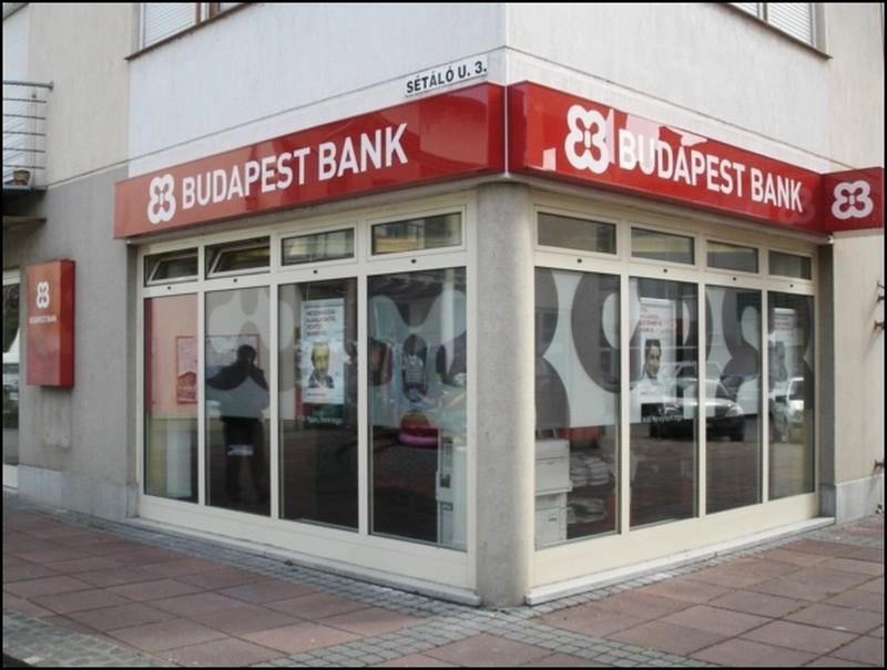 Egységes arculat - Budapest Bank