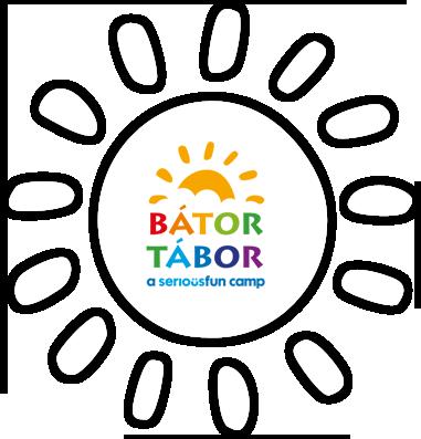 Bátor Tábor logo