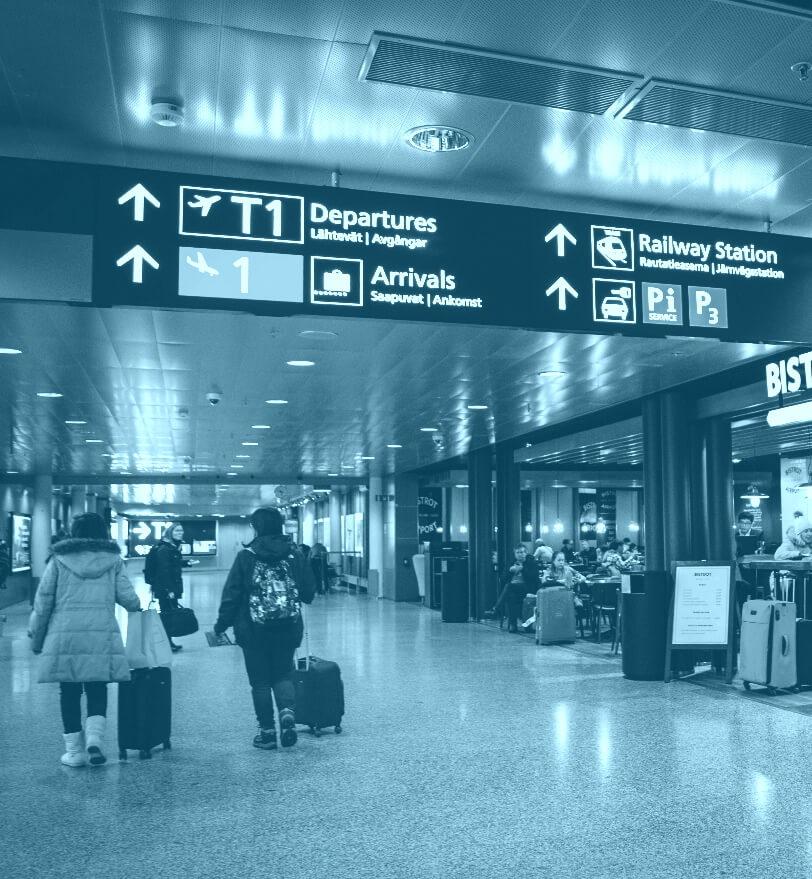 Információs, útbaigazító és tájékoztató táblák