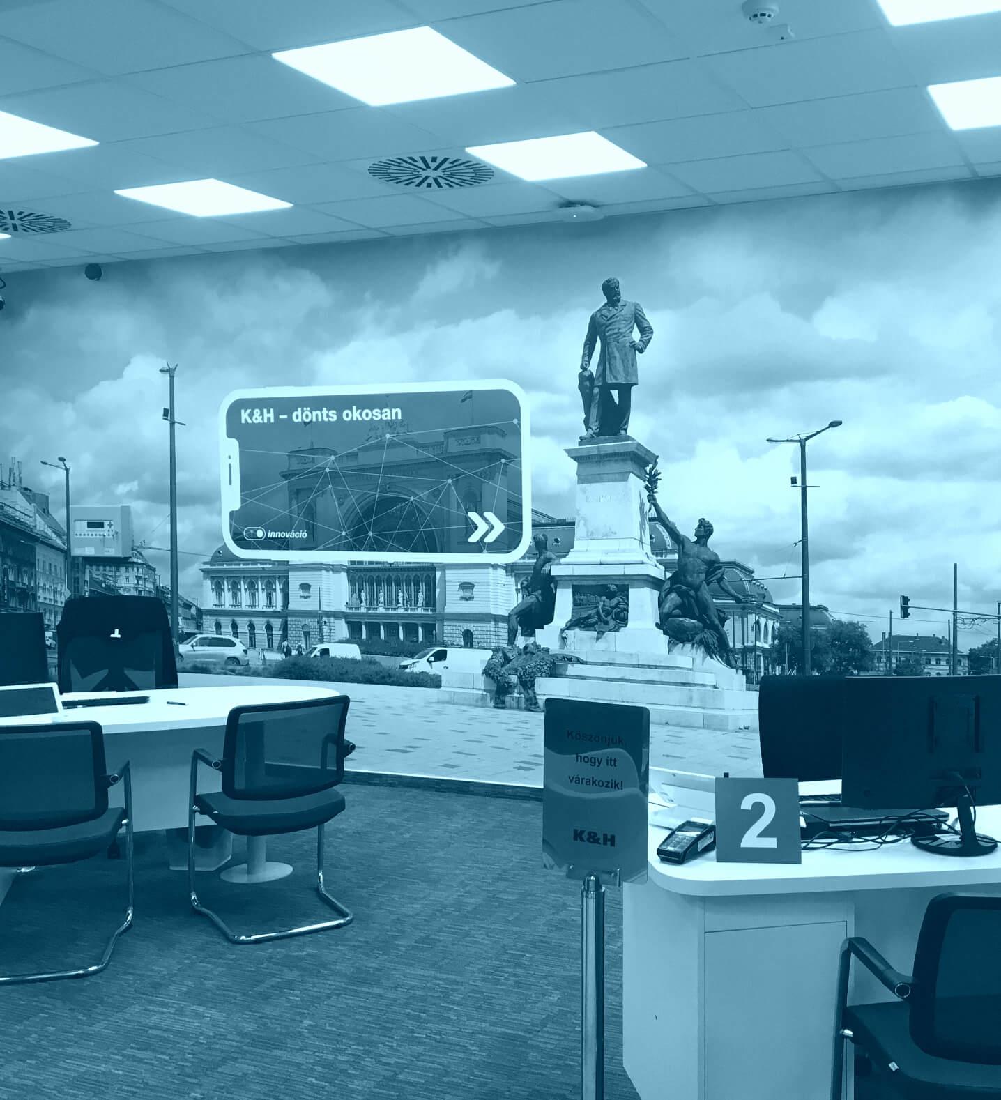 Üzletberendezés, iroda dekoráció