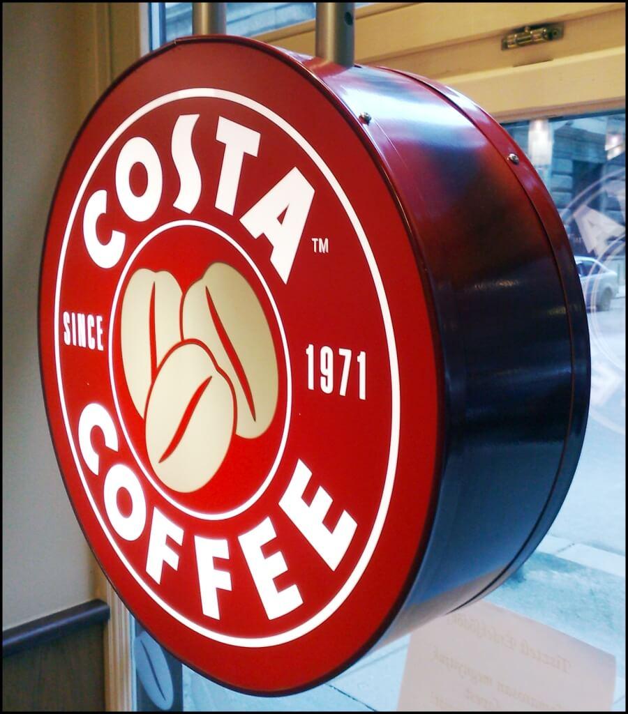 Világító cégér - Costa