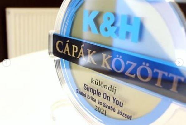 K&H Cápák között díj