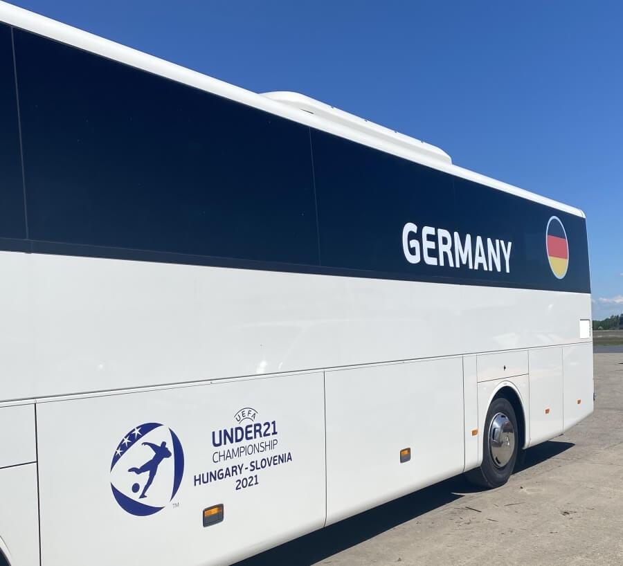 U21-es labdarúgó-Európa-bajnokság busza - Németorszá