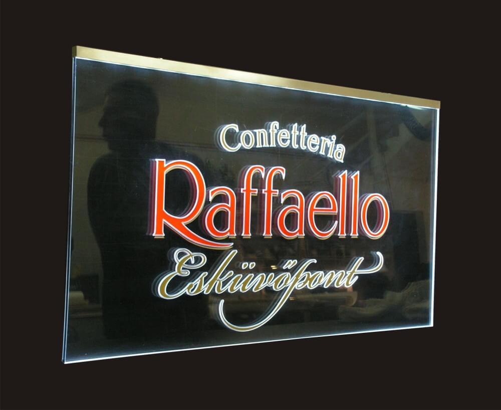 Élvilágító tábla - Raffaello