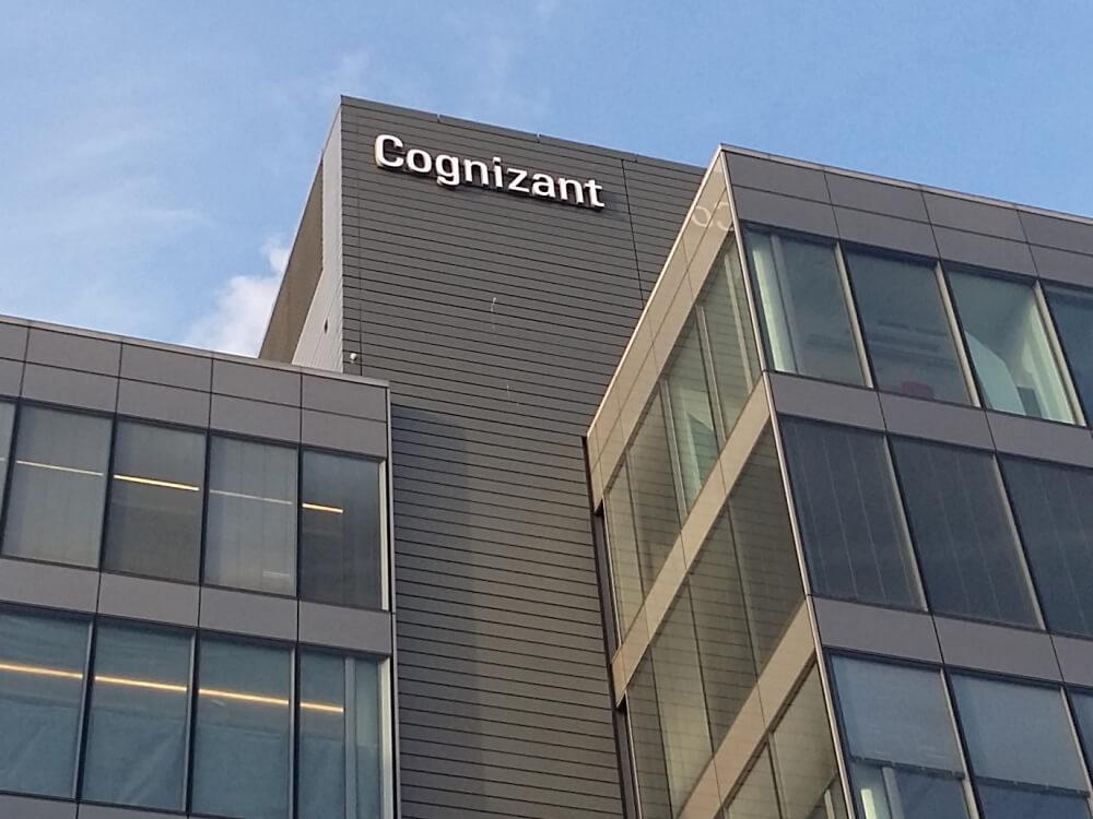 Világító cégfelirat - Cognizant